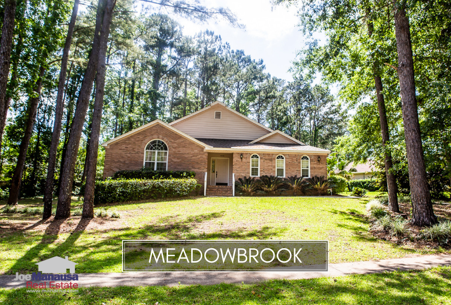 Meadowbrook in Northeast Tallahassee is a popular neighborhood with more than 280 homes on quarter acre plus size lots.