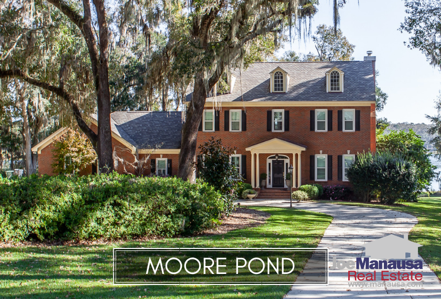 Moore Pond is a luxury home community located just north of Ox Bottom Road along the Thomasville Road Corridor.