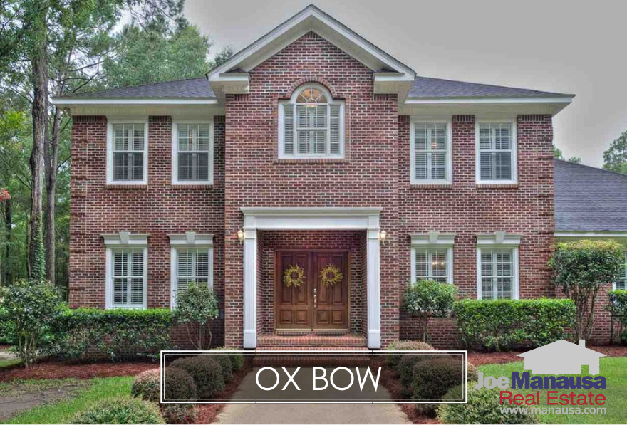 Ox Bow is an NE Tallahassee area that contains high-end homes on acreage in the heart of the 32312 zip code.