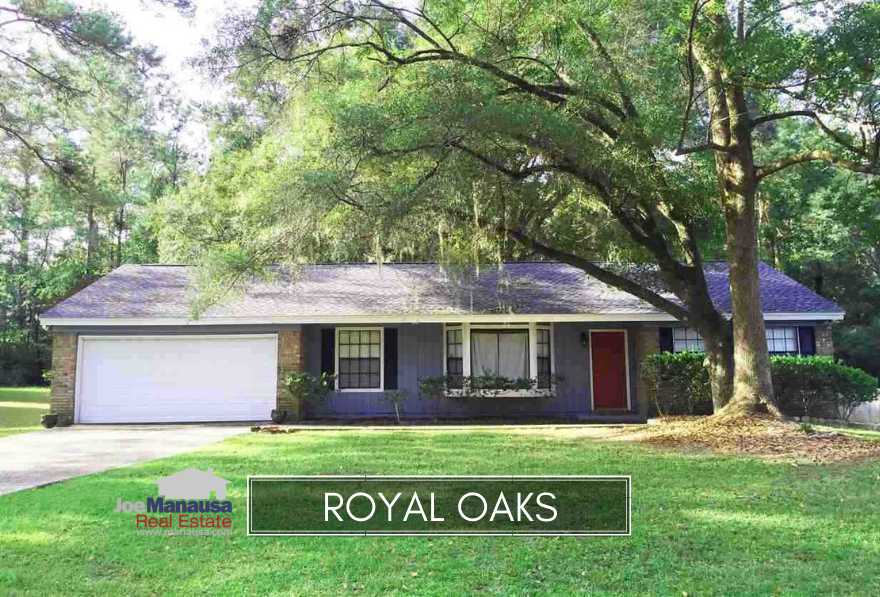 Royal Oaks is a popular Northeast Tallahassee neighborhood sandwiched between Killearn Estates to its east and Thomasville Road to its west.