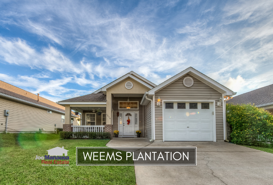 Weems Plantation is a small but popular NE Tallahassee neighborhood located between Capital Circle NE and Buck Lake Road on the south side of Mahan Drive.