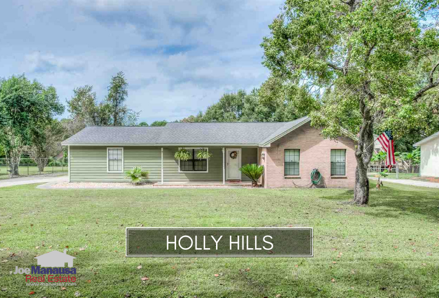 Holly Hills is a rare gem of a neighborhood that has not yet seen the great impact of the housing market recovery like much of the rest of Tallahassee.