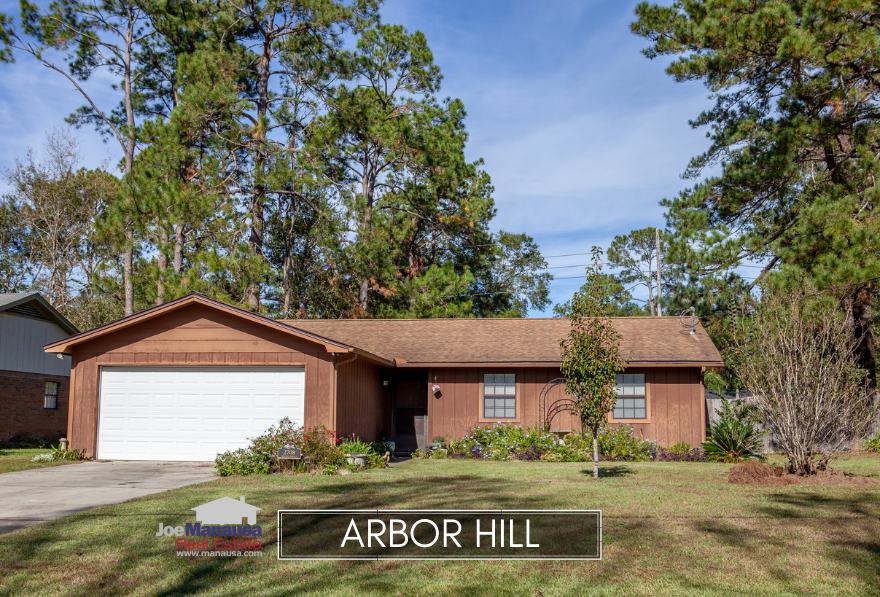 Arbor Hill is a popular neighborhood located adjacent to Killearn Estates in Northeast Tallahassee.
