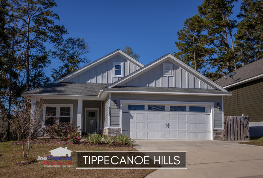 Tippecanoe Hills is a new construction neighborhood located in the NW section of Tallahassee.