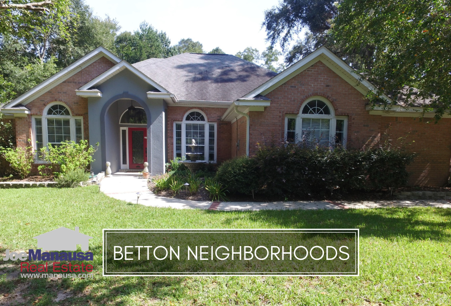 Some of the most historically popular homes in Tallahassee can be found within the neighborhoods of Betton, an area just north of Midtown.