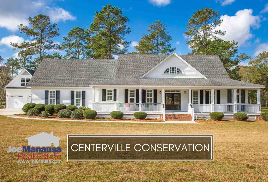 Centerville Conservation is a NE Tallahassee luxury homes community that offers well-appointed homes on small acreage tracts.