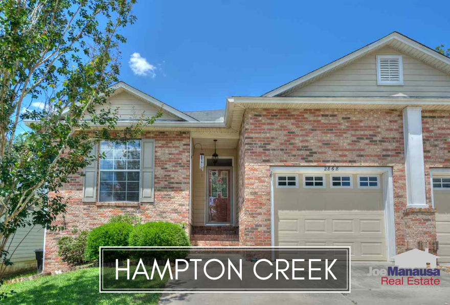 Hampton Creek is a ten-plus year old neighborhood located in SE Tallahassee, offering the very type of homes that Tallahassee most desperately needs.
