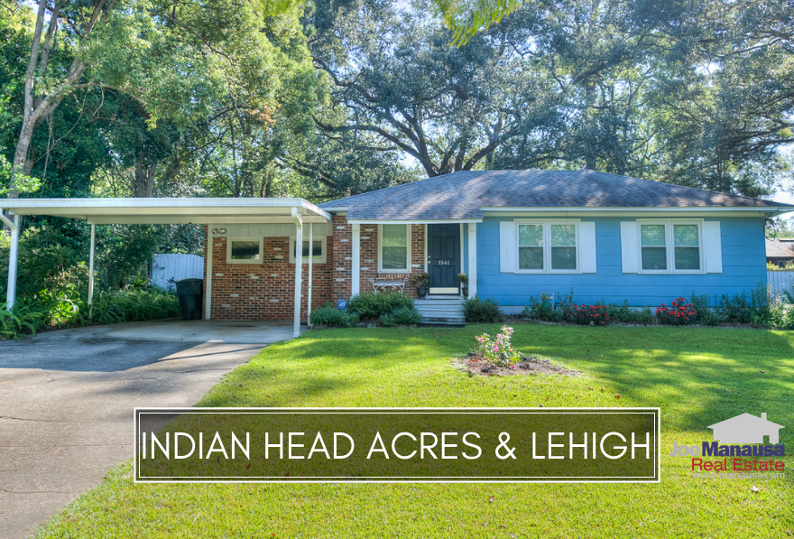 Indian Head Acres & Lehigh are two popular in-town neighborhoods located across Apalachee Parkway from the Governor's Square Mall.