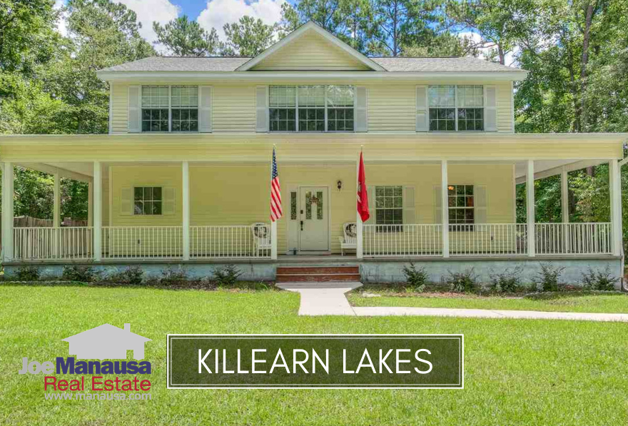 Killearn Lakes Plantation continues to be the most active neighborhood in the Tallahassee real estate market.
