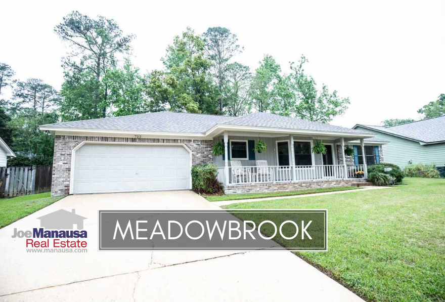 Meadowbrook is located near the intersection of Mahan Drive and Capital Circle NE, making it