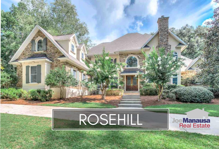 Rosehill is a secluded, gated community in NE Tallahassee.
