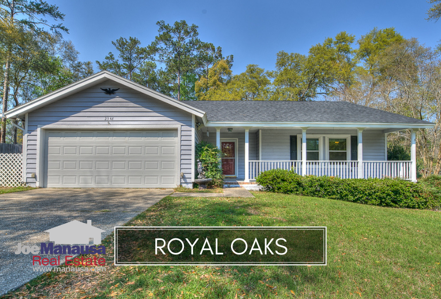 Royal Oaks in NE Tallahassee is located along the highly desirable Thomasville Road Corridor.