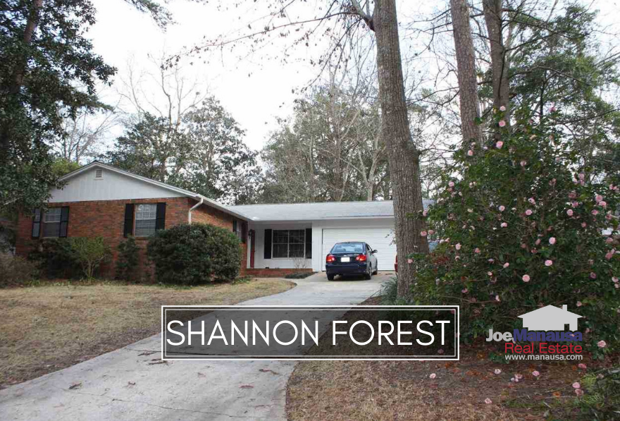 Shannon Forest is a popular NE Tallahassee neighborhood that has been one of the very first to fully recover from the housing market collapse.