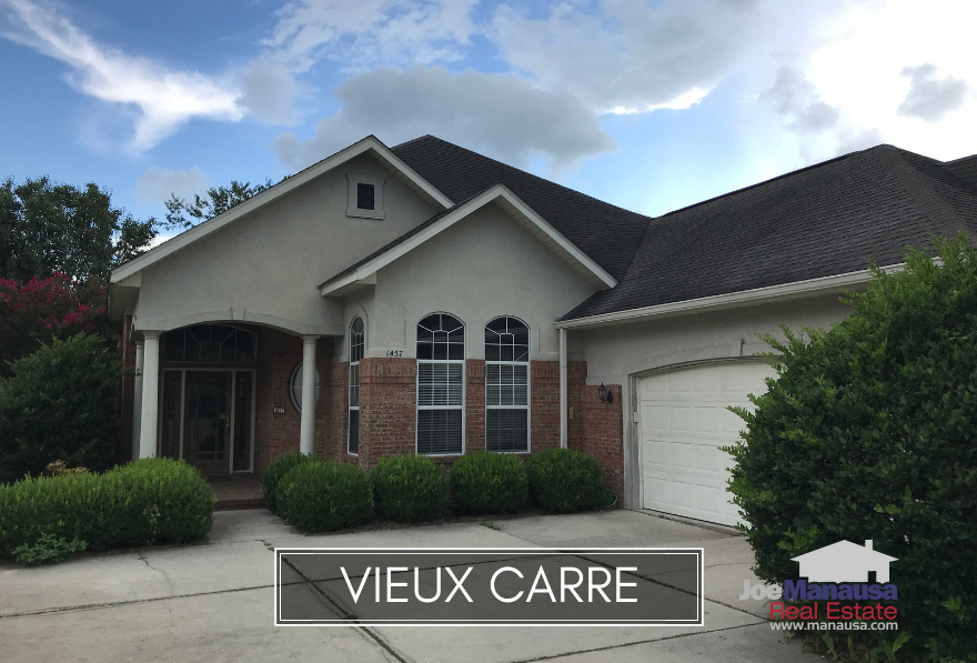 Vieux Carre is a small but highly popular neighborhood located