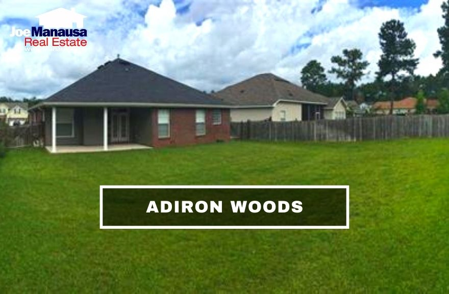 Adiron Woods is a popular east-side neighborhood that is located near the intersection of Mahan Drive and Walden Road.