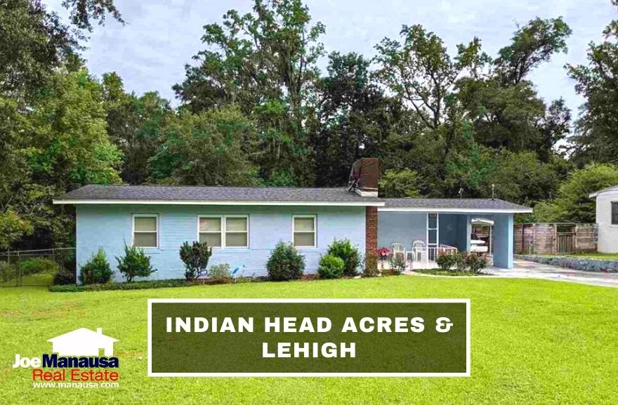 Indian Head Acres and Lehigh are popular downtown neighborhoods where a very short walk will deliver you to Cascades Park, Myers Park, or the Governor's Square Mall.