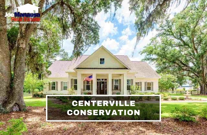 Centerville Conservation is a popular high-end Tallahassee neighborhood located on the west side of Centerville Road and north of Pisgah Church Road.