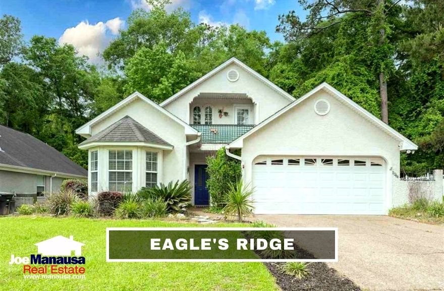Eagles Ridge is located within the gated Golden Eagle Plantation and sits on the western edge of the popular Tom Fazio golf course.