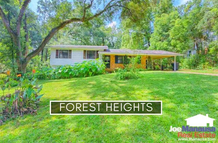 Forest Heights is located south of Hartsfield Road and north of Tharpe Street on the NW side of Tallahassee.