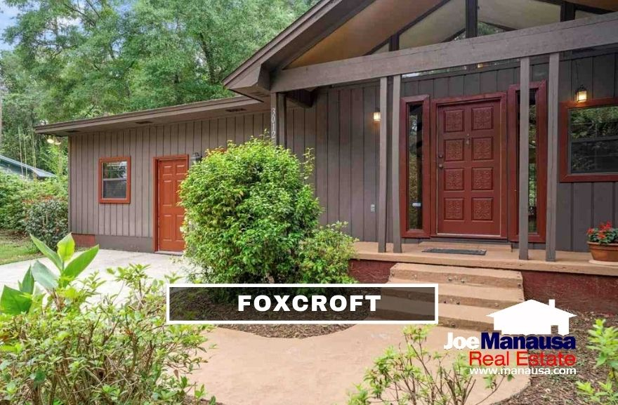 Foxcroft is a popular Northeast Tallahassee neighborhood located on the east side of Thomasville Road on the western edge of Killearn Estates.