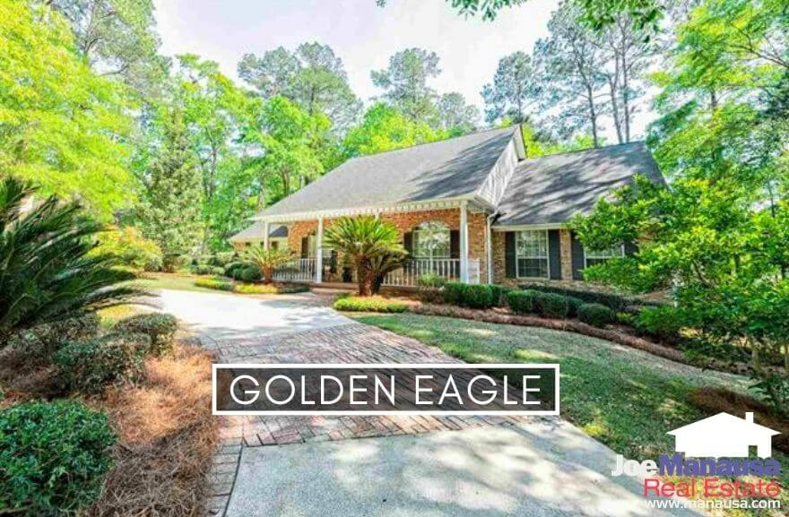 Golden Eagle Plantation in NE Tallahassee is the finest golf course community in our area, featuring large homes surrounding a Tom Fazio golf course.