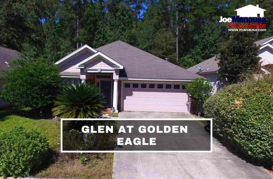 The Glen at Golden Eagle is located in the heart of Killearn Lakes Plantation, adjacent to the uber-popular Golden Eagle Plantation community.