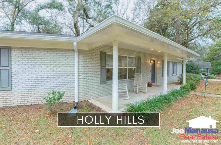 Holly Hills in Northwest Tallahassee is centrally located north of Tharpe Street and south of Old Bainbridge Road, giving its residents fast access to midtown and downtown areas.