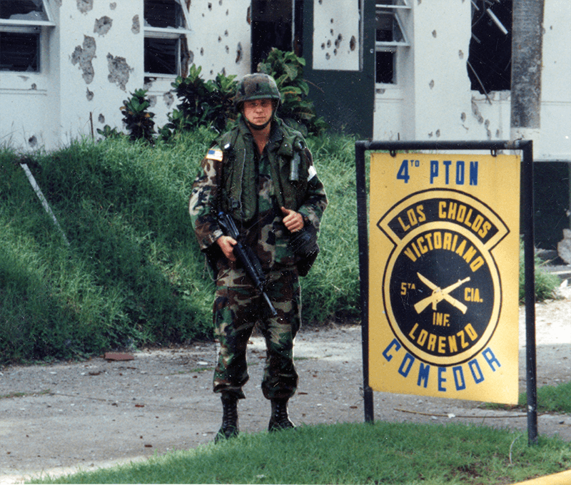 Joe Manausa In Panama Invasion - Operation Just Cause 1989