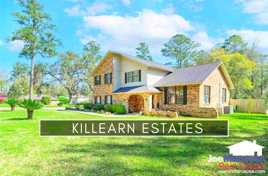 Killearn Estates is a large, popular Northeast Tallahassee community nestled between Centerville Road and Thomasville Road.