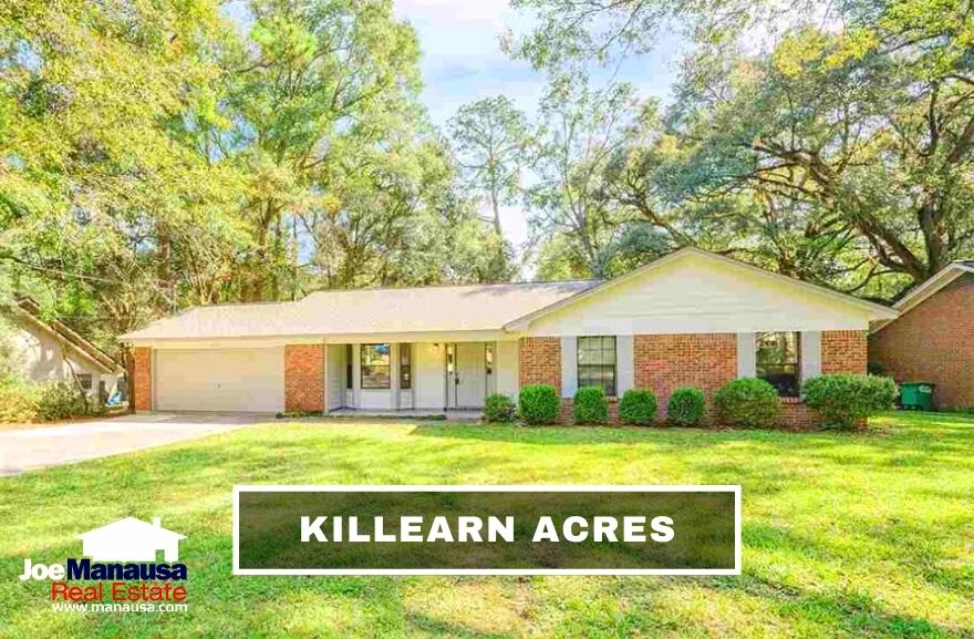 Killearn Acres is a popular Northeast Tallahassee neighborhood located on the northern border of Killearn Estates, enjoying all the same benefits of its larger 32309 zip code neighbor.