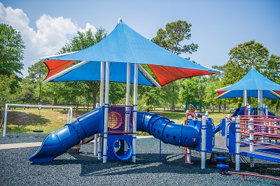 Playground at Tom Brown Park in Tallahassee
