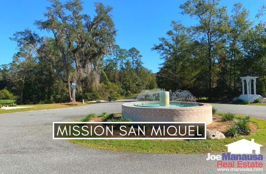 Mission San Miguel is located in the hot 32317 zip code on the south side of Highway 90 and just east of Chaires Cross Road.