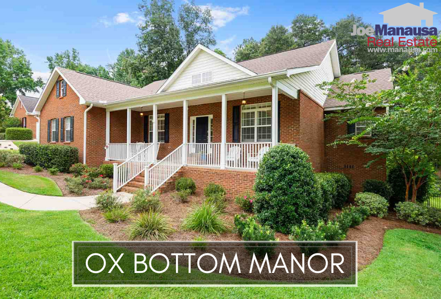 Ox Bottom Manor in NE Tallahassee is a popular neighborhood that is located in the center of the 32312 zip code, with more than 700 three, four (and more) bedroom homes built since the early 1990s.