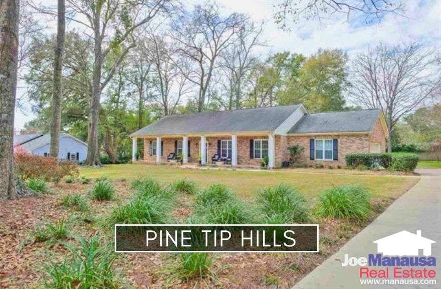 Pine Tip Hills is located west of Meridian Road on the north side of Rhoden Cove Road, giving its residents quick access to Midtown and the downtown areas.