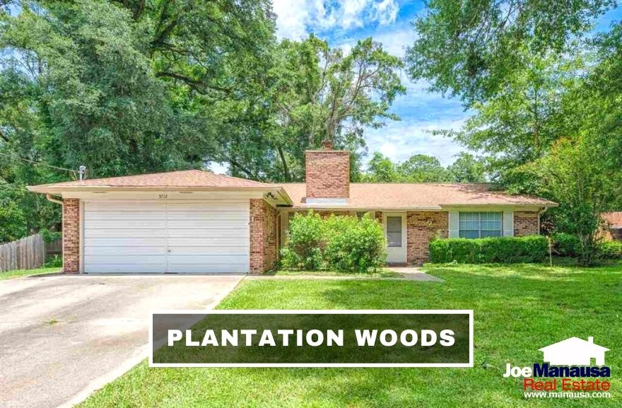 Plantation Woods is a popular Northwest Tallahassee neighborhood located on the west side of Fred George Road just south of Old Bainbridge Road.