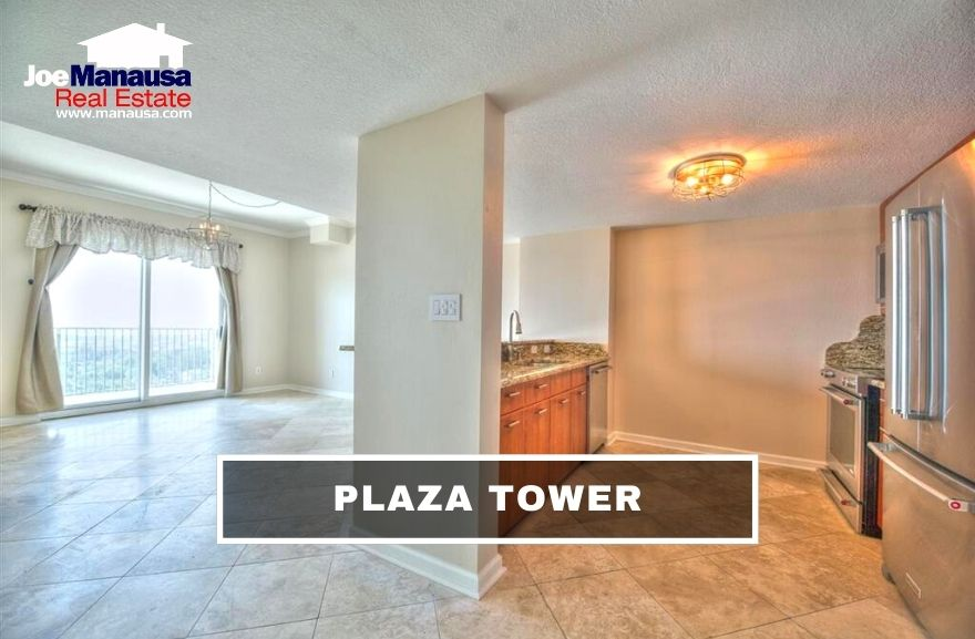 Plaza Tower is a 202 unit vertical condominium in downtown Tallahassee that has struggled since it was brought to the market in 2009.Plaza Tower is a 202 unit vertical condominium in downtown Tallahassee that has struggled since it was brought to the market in 2009.