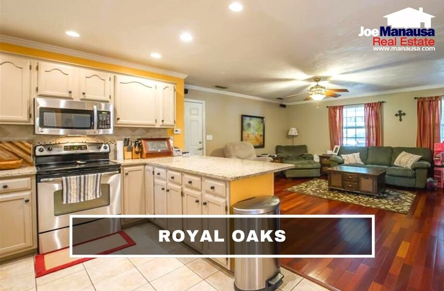 Royal Oaks is located along the east side of Thomasville Road, serving as the western edge of Killearn Estates and providing its residents superb access to Tallahassee and its northside offerings.