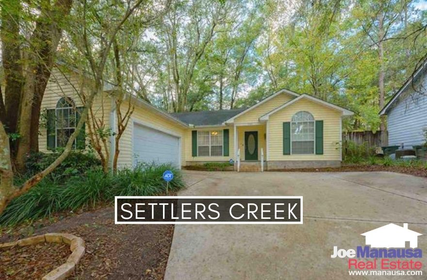 Settlers Creek in Northwest Tallahassee is centrally located (just south of Fred George Road) and within close driving distance to downtown Tallahassee.