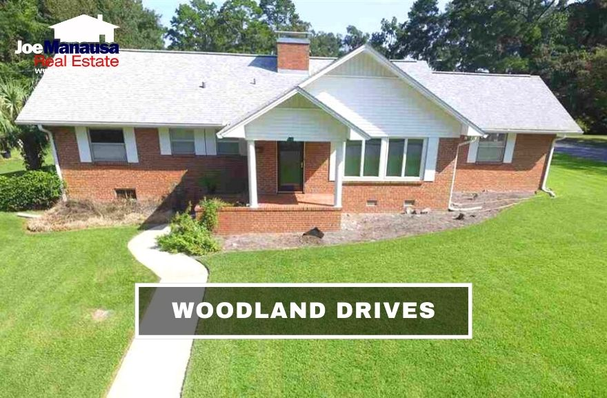 Woodland Drives is a popular downtown neighborhood that is located within walking distance to dining, shopping, nightlife, and entertainment.
