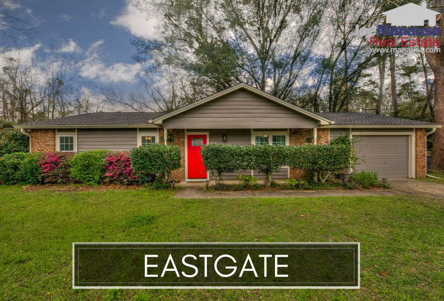 Eastgate is a neighborhood in NE Tallahassee that is perfectly situated for many families as it is close to dining, shopping, entertainment, and major traffic routes.