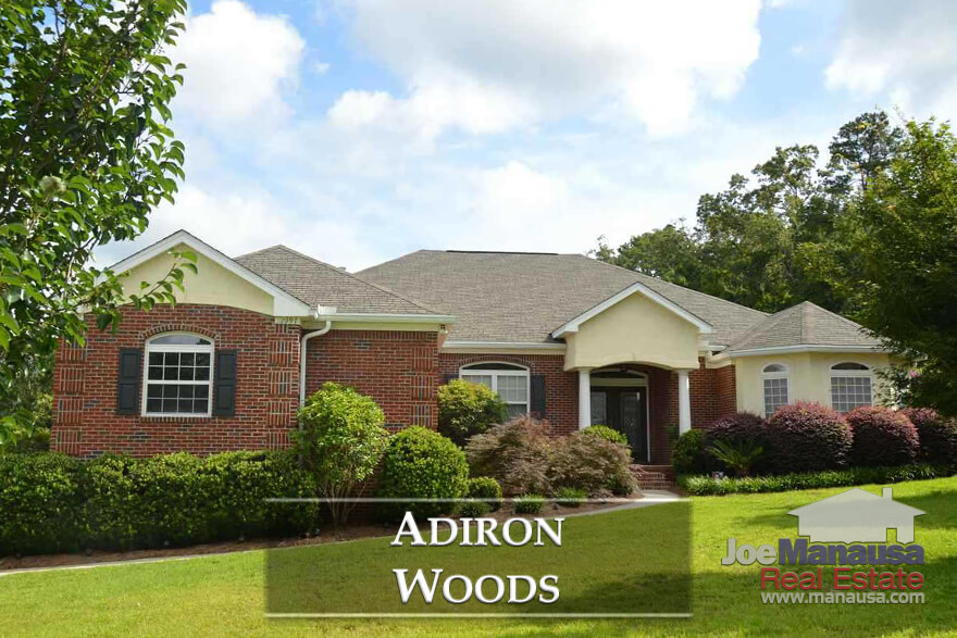 You can find Adiron Woods on the East side of town, near where Mahan Drive intersects with Walden Road