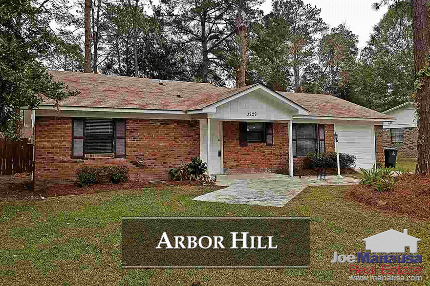 Arbor Hill is a NE Tallahassee neighborhood located at the southern edge of Killearn Estates.