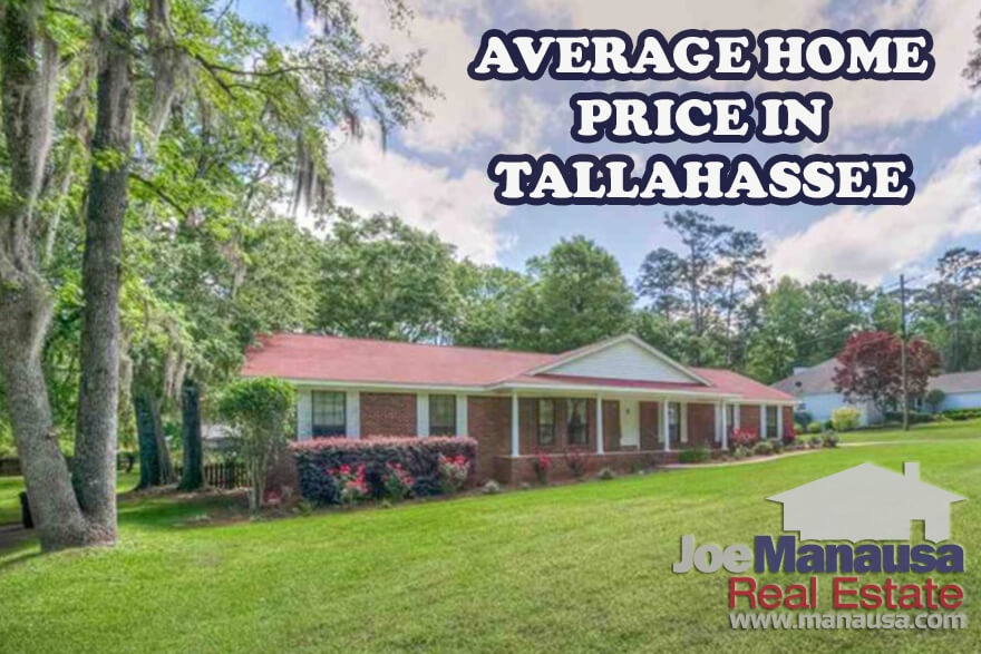 The average home price in Tallahassee is rising, meaning buyers today are spending more than ever for their slice of the American Dream