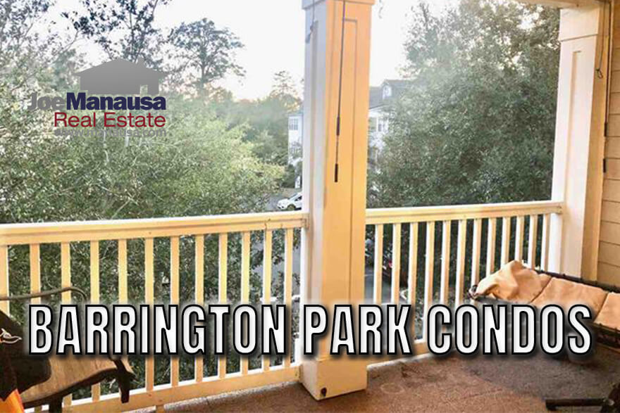 Barrington Park is a rare but popular condominium complex located in NE Tallahassee that offers buyers a shot at the 32312 zip code on a sub $200K budget.