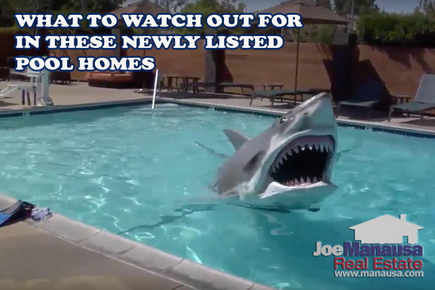 BEWARE! Did All Of These 17 Homes With Swimming Pools Just Hit The Market?