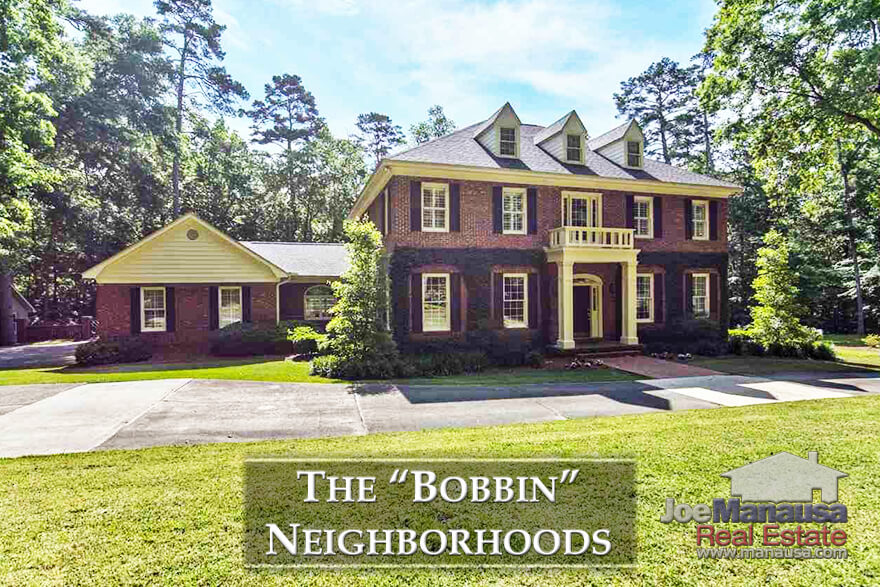 Tallahassee Bobbin Trace, Bobbin Brook, and Bobbin Mill Woods Listings And Sales Report June 2018