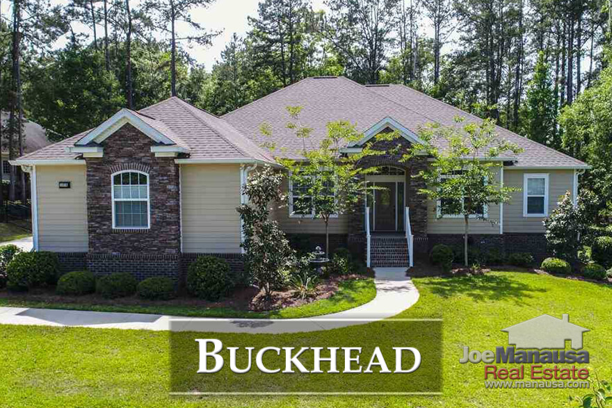 Buckhead is a popular NE Tallahassee neighborhood that offers a nice alternative for people wanting to live in the Killearn area as it is located across Centerville Road from Killearn Estates