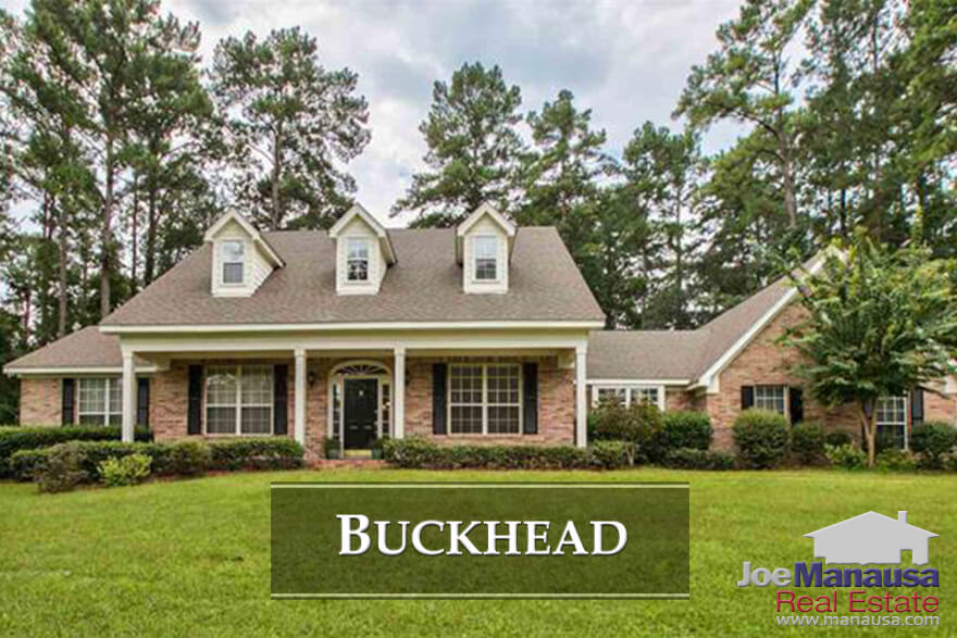 Buckhead is popular NE Tallahassee neighborhood, located across Centerville Road from Killearn Estates.