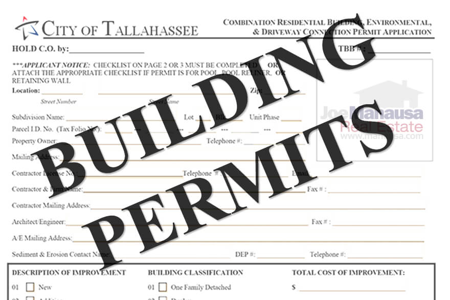 A study of Tallahassee building permits for new construction homes has brought to light the fact that we are in the beginning years of a major market cycle change
