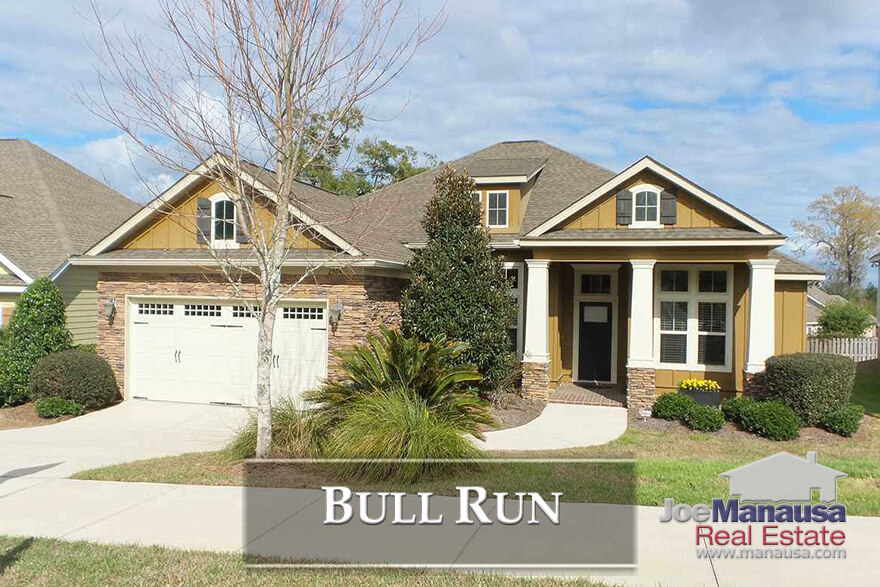 Bull Run is located in the heart of the hottest area of the Tallahassee real estate market, featuring new and newer three and four bedroom homes.